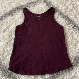 Old navy plum tank size small